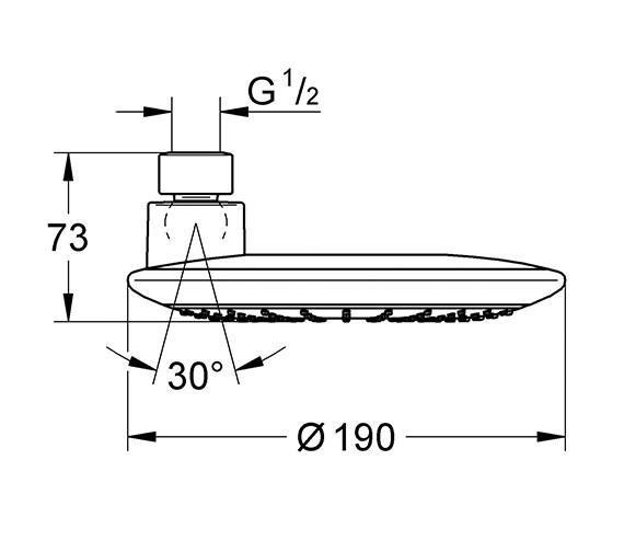 Technical drawing QS-V28497 / 27439000