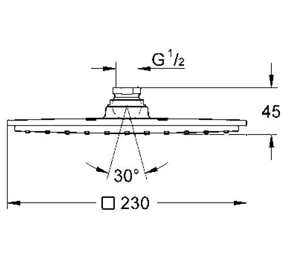 Technical drawing QS-V28499 / 27479000