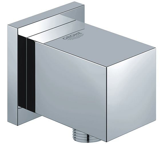 Grohe Euphoria Cube Chrome Shower Outlet Elbow Half Inch - 27704000