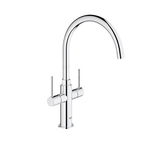 Grohe Ambi Cosmopolitan Kitchen Sink Mixer Tap With 2 Handle-30190000