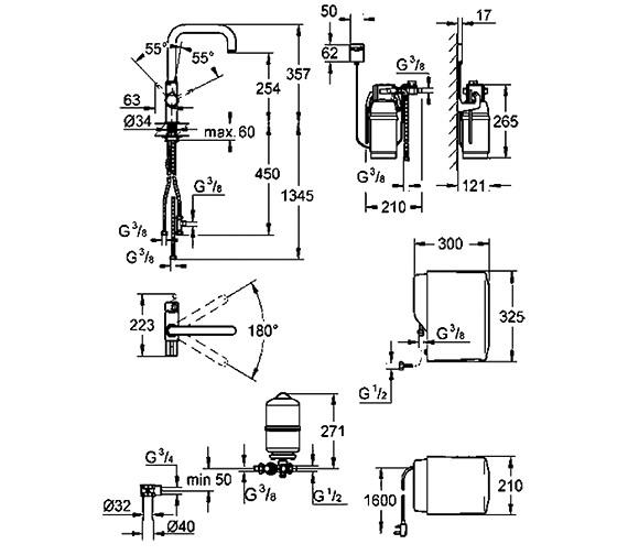 Technical drawing QS-V28587 / 30153000