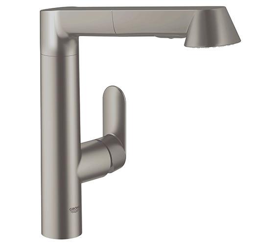 Additional image of Grohe K7 Monobloc Chrome Finish Kitchen Sink Mixer Tap