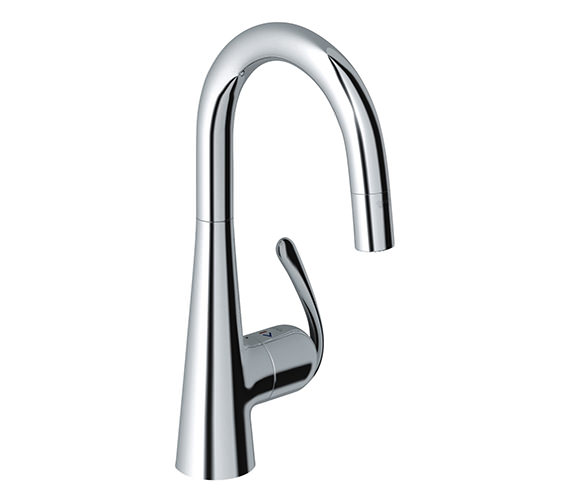 Grohe Zedra Monobloc Chrome Kitchen Sink Mixer Tap
