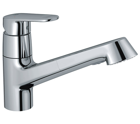 Grohe Europlus Chrome Low Spout Sink Mixer Tap - 32942002