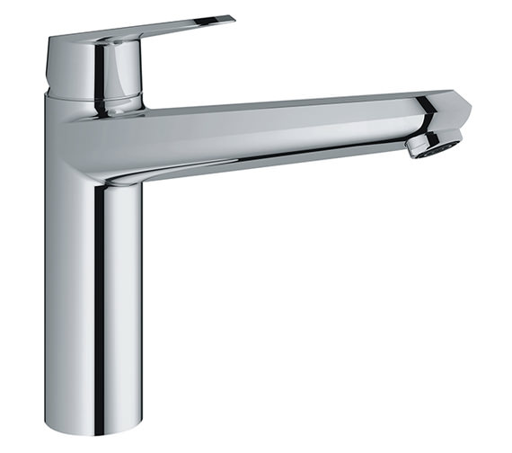 grohe eurodisc cosmopolitan chrome mono sink mixer tap. Black Bedroom Furniture Sets. Home Design Ideas