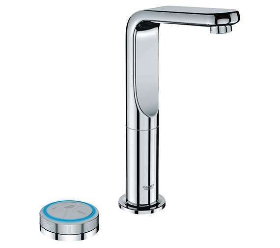 Grohe Spa Veris F Digital Basin Mixer Tap With Digital Controller