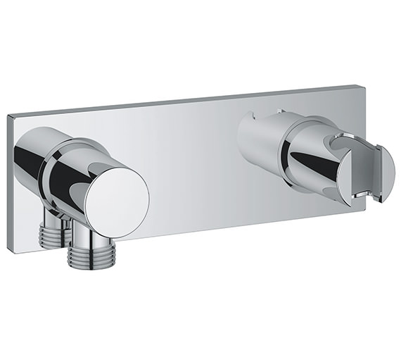 Grohe Grohtherm F Wall Shower Union With Integrated Shower Holder