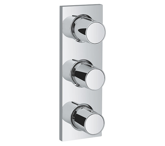 Grohe Spa Grohtherm F Trim Concealed Shower Valve With Triple Volume Control