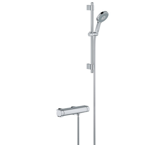 Grohe Grohtherm 2000 New Chrome Plated Thermostatic Shower Set