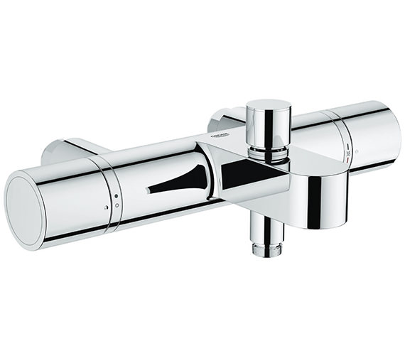 Grohe Grohtherm 1000 Cosmopolitan Thermostatic Bath Shower Mixer Tap Chrome