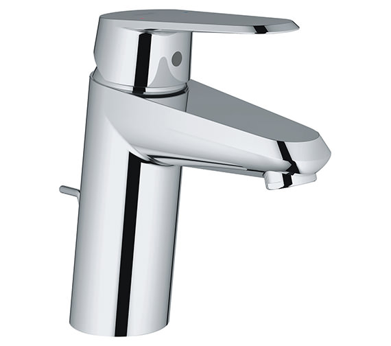 Grohe Eurodisc Cosmopolitan Chrome Basin Mixer Tap With Pop-Up Waste