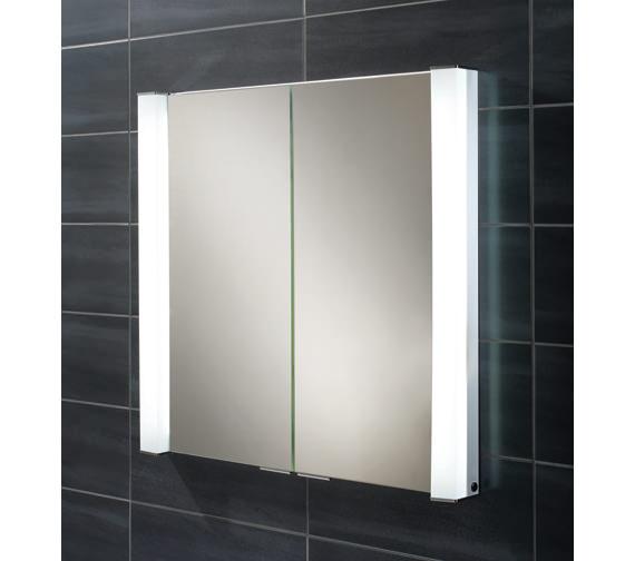 HIB Laser Double Door Recessed Cabinet - 44300