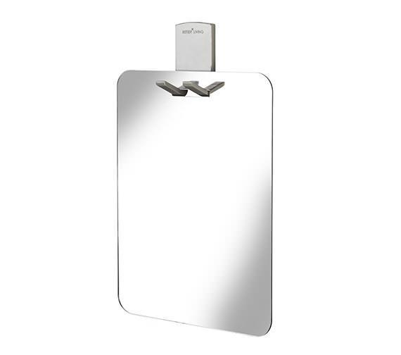 Croydex Homeware Shower Mirror With Razor Holder