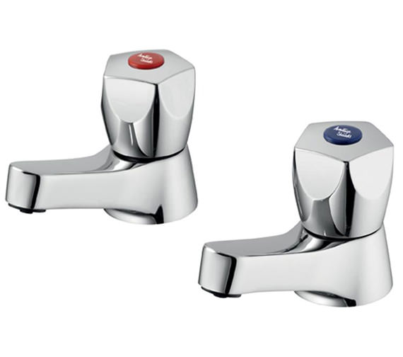 Armitage Shanks Sandringham 21 Washbasin Pillar Taps - B9865AA