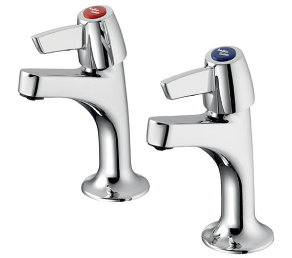 Armitage Shanks Sandringham 21 Sink Pillar Taps With Lever Handles