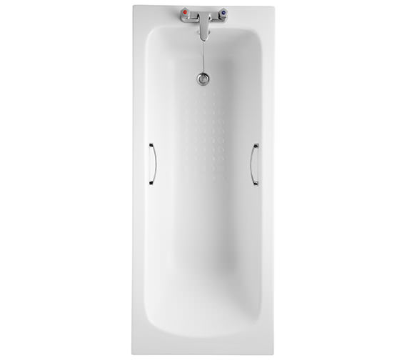 Armitage Shanks Sandringham 21 1700 x 700mm Bath With Hand Grips And Tread Pattern