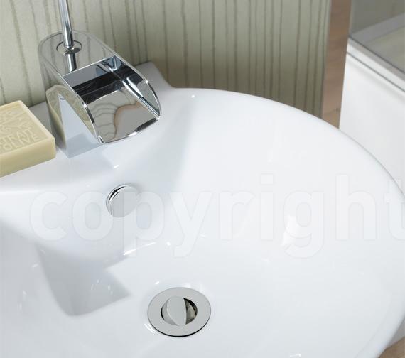Bauhaus Slotted Flip Top Basin Waste - BSW0141C