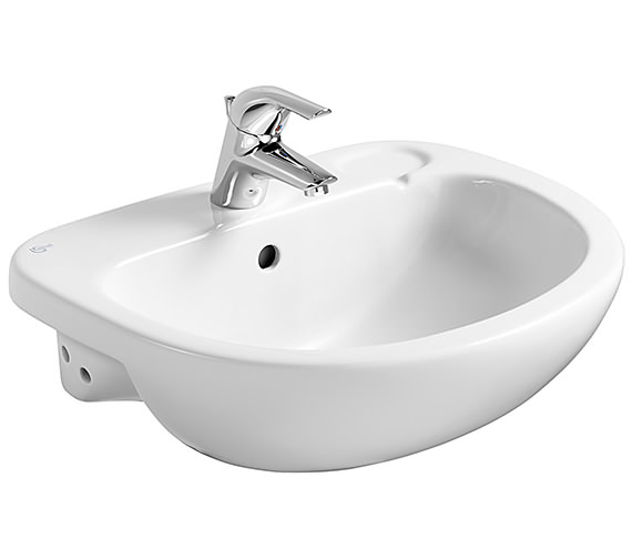 Ideal Standard Studio 560mm Semi-Countertop Basin With 1 Tap Hole