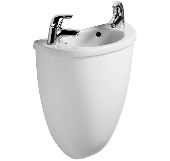 Ideal Standard Space Micro Handrinse Basin And Semi Shroud 400mm - E617701