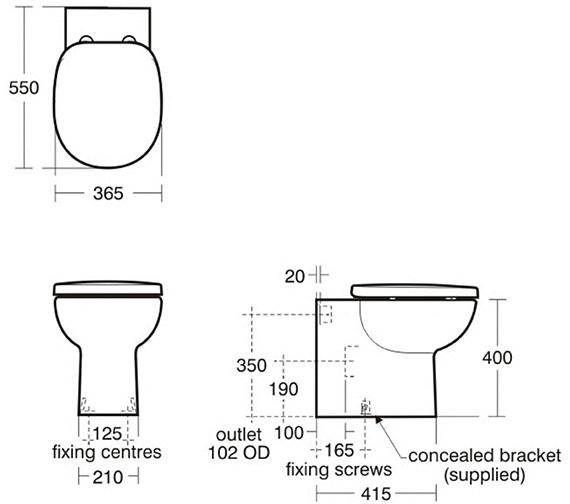 Technical drawing QS-V29390 / E801601