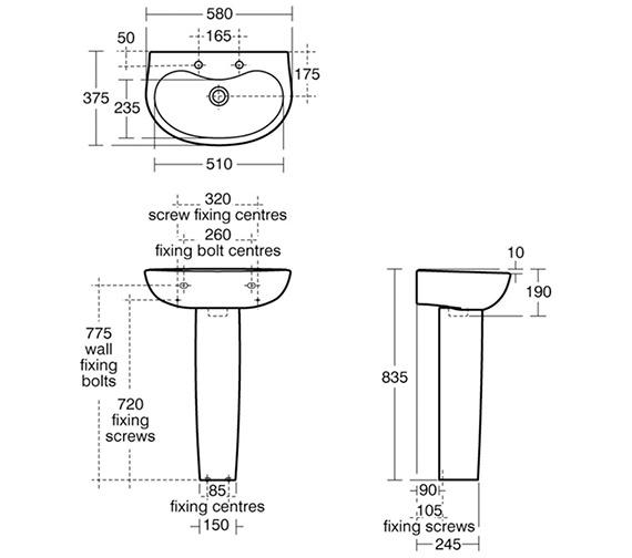 Technical drawing QS-V29393 / E615001