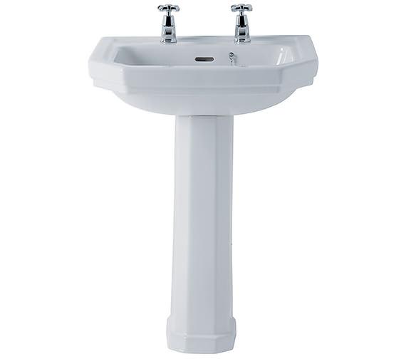 Ideal Standard Plaza 580mm 2 Taphole Basin - E366001