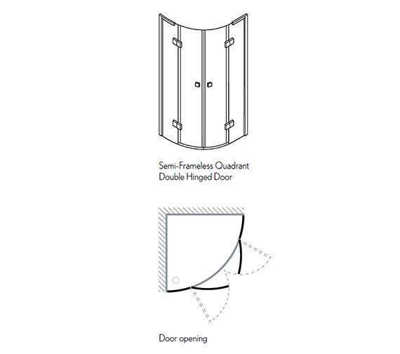 Technical drawing QS-V29415 / DQDSC0800
