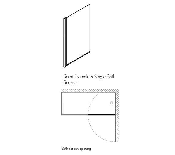 Technical drawing QS-V29419 / DBSSC0850