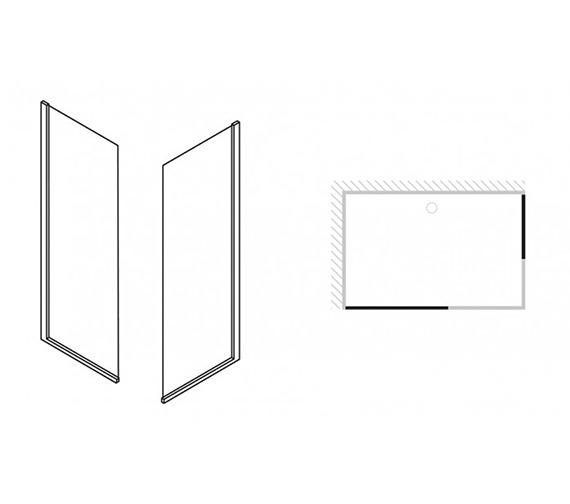 Technical drawing QS-V29426 / 6401