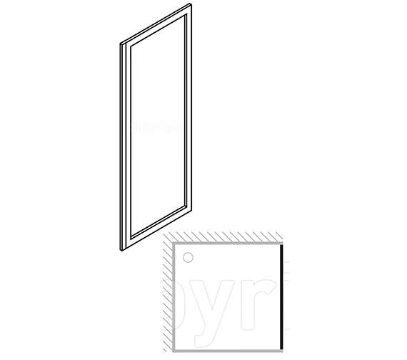 Technical drawing QS-V29428 / 6117