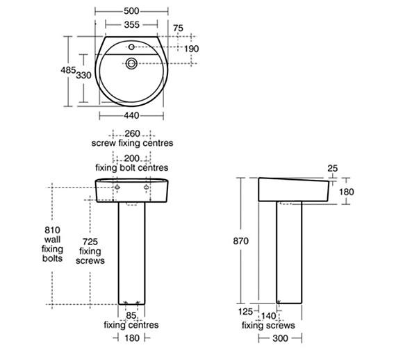 Technical drawing QS-V29433 / E000701