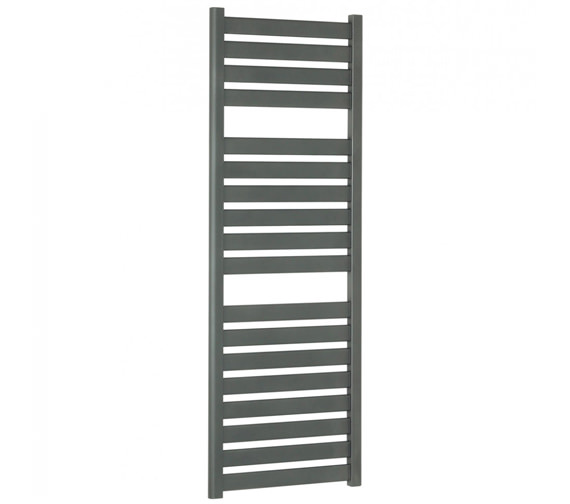 Bauhaus Edge Flat Panel Towel Rail Anthracite 500 x 1420mm
