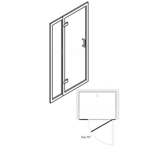 Technical drawing QS-V29600 / 6104/6315