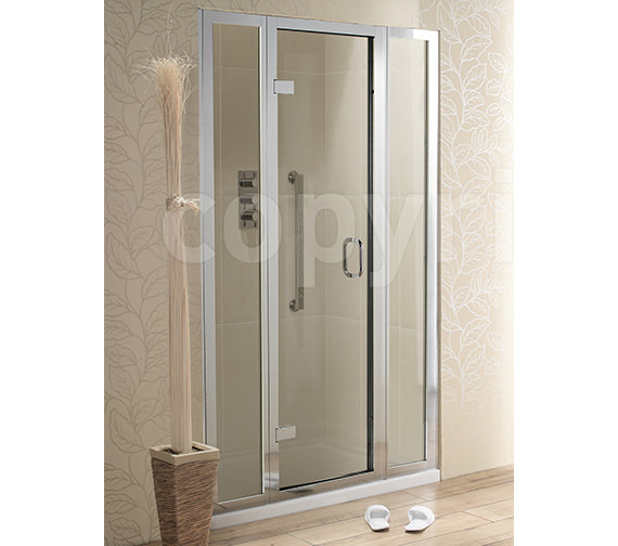 Simpsons Classic Hinged Door With 2 Inline Panels 1200mm