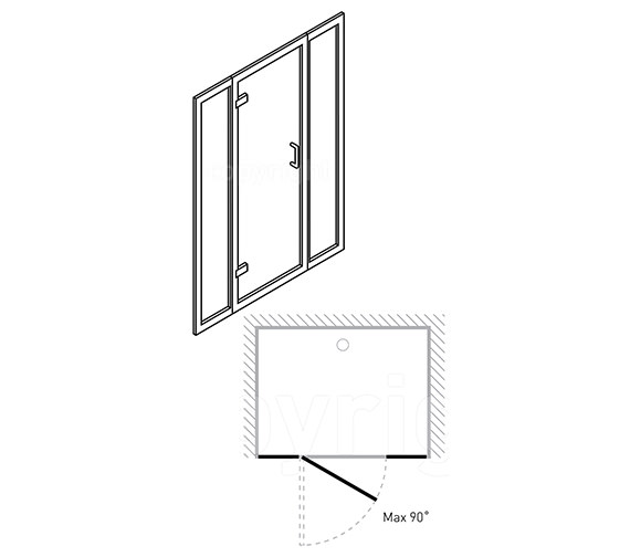 Technical drawing QS-V29605 / 6330