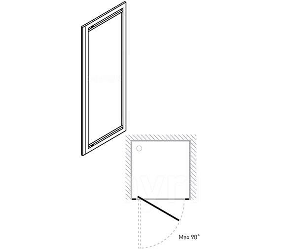Technical drawing QS-V29735 / 7129