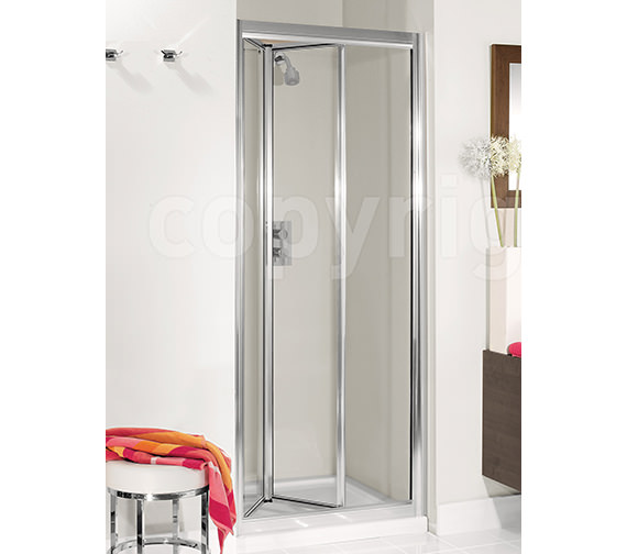 Simpsons Supreme Silver Framed 600mm Plus Bi-Fold Door - 7230