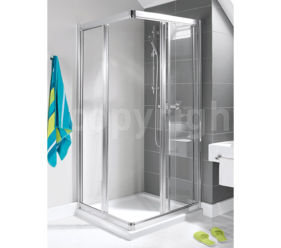 Simpsons Supreme Corner Shower Cubicle 800mm - 7263