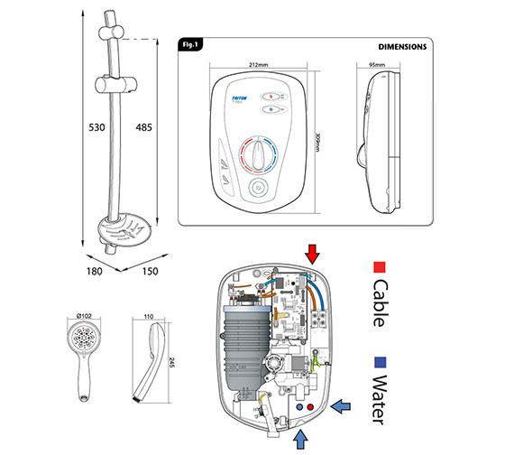 Technical drawing QS-V40033 / SP1008XR