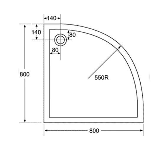 Technical drawing QS-V29778 / Aqva - QS-V29778
