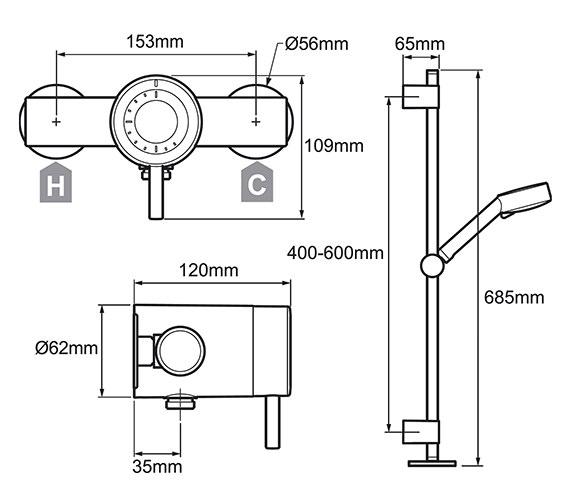 Technical drawing QS-V29810 / 1.1656.002