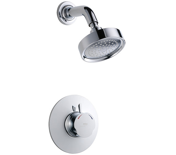 Mira Discovery Chrome Mixer Shower Built In Rail - 1.1595.003