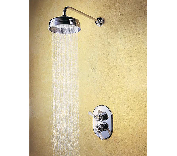 Mira Crescent Mixer Shower Deluge Head 6 or 8 inch - 1.0.437.24.1
