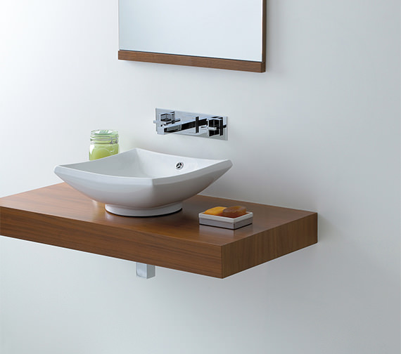 Phoenix Counter Top Square Shape Wash Basin - VB011 Image