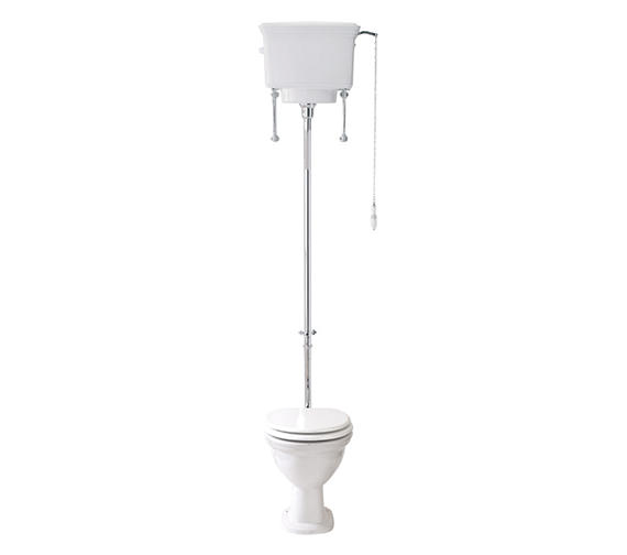Phoenix Balmoral Low Level Pan High Level Cistern 690mm