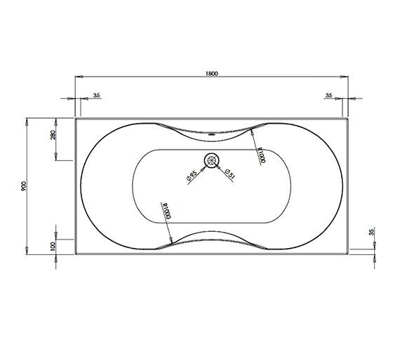 Technical drawing QS-V21326 / BARBM153S2