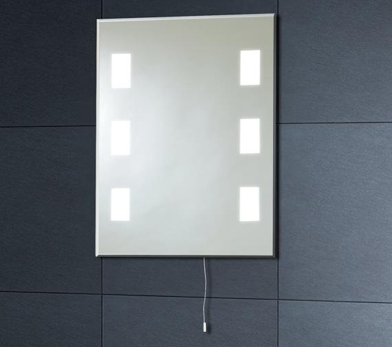 Phoenix Illuminated Back Lit Mirror 500mm - MI008