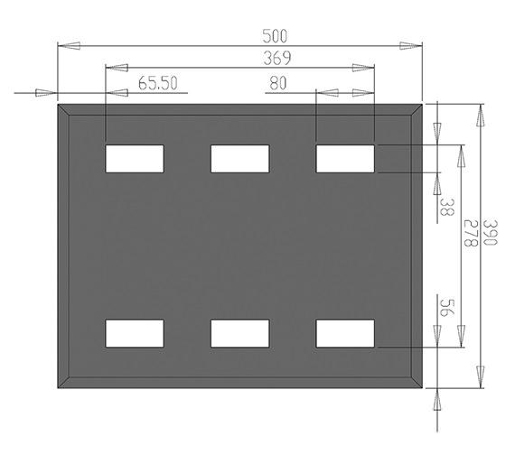 Technical drawing QS-V30007 / MI008