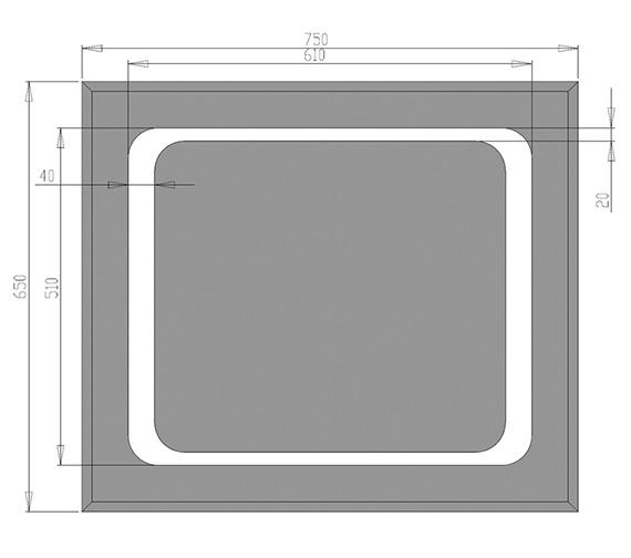 Technical drawing QS-V30008 / MI001