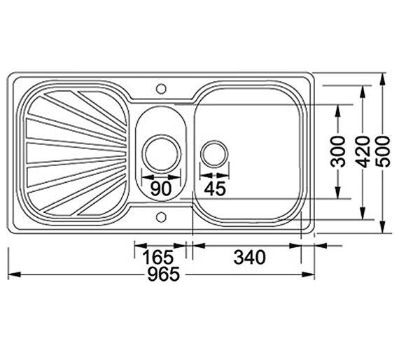 Technical drawing QS-V30023 / 1010019158 BOM